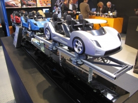 Fiorano GT Challenge's train model with a different car design