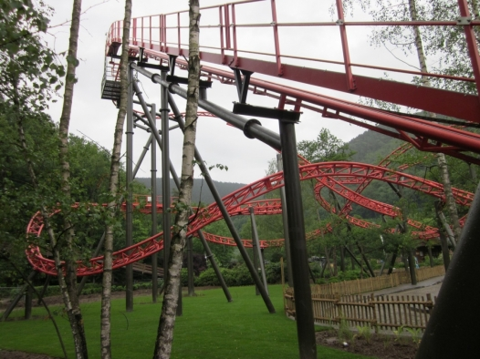 Vicky The Ride est un Spinning Coaster de Gerstlauer Amusement Rides.