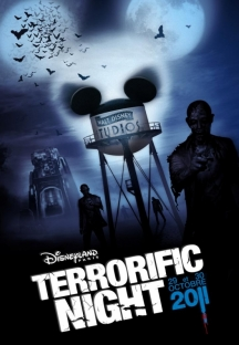 Terrorific Night 2011 Poster unveiled by Disneyland Paris