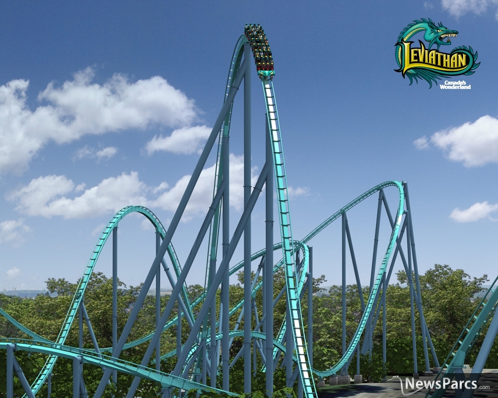 NewsParcs - Canada's Wonderland unleashes Leviathan in 2012
