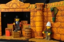 The ride is inspired by the LEGO Adventurers universe.