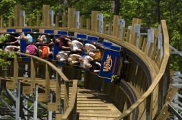 Voyage named the first wooden coaster in the world by Amusement Today readers.