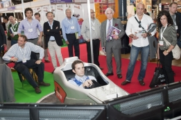 More than 7053 visitors attended EAS 2011