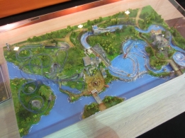 JoraVision displayed a model of the future Adventure World Warsaw.