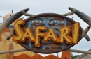 Theming of Safari's entrance at Kolmarden Zoo, Sweden