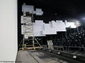 Les écrans latéraux sont maintenant installés (janvier 2012)