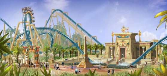 OzIris will be the second B&M Inverted Coaster to open in France