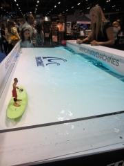 American Wave Machines' PerfectSwell model at IAAPA Attractions Show 2011