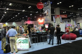 American Wave Machines' booth at IAAPA Attractions Show 2011