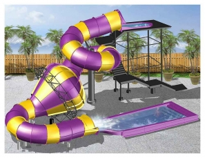 Elitch Gardens' water park will add a ProSlide Family Tantrum: Tube Drop