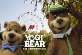 Bobbejaanland will also have a new 4-D movie experience with Yogi Bear.