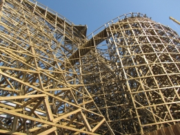 L'attraction a été construite par Great Coasters International