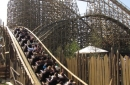 WODAN Timburcoaster offers a layout with tunnels, drops, banked turns, airtimes and speed all along