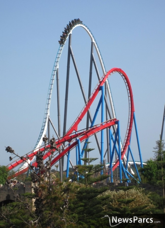 Top 10 tallest roller coasters in America - today.com