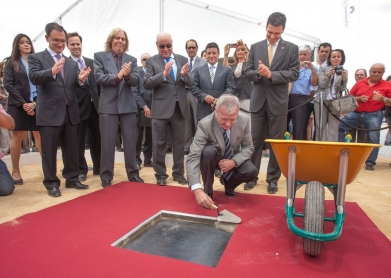 PREMURSA lays the foundation stone of the future Paramount Park at Alhama de Murcia