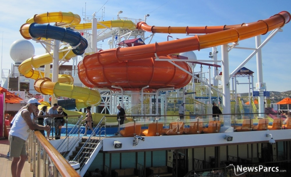Carnival Spirit Waterslide Carnival Spirit Popular For