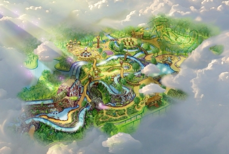 Attractiepark Toverland invests €20 million for a new themed area : Magische Vallei