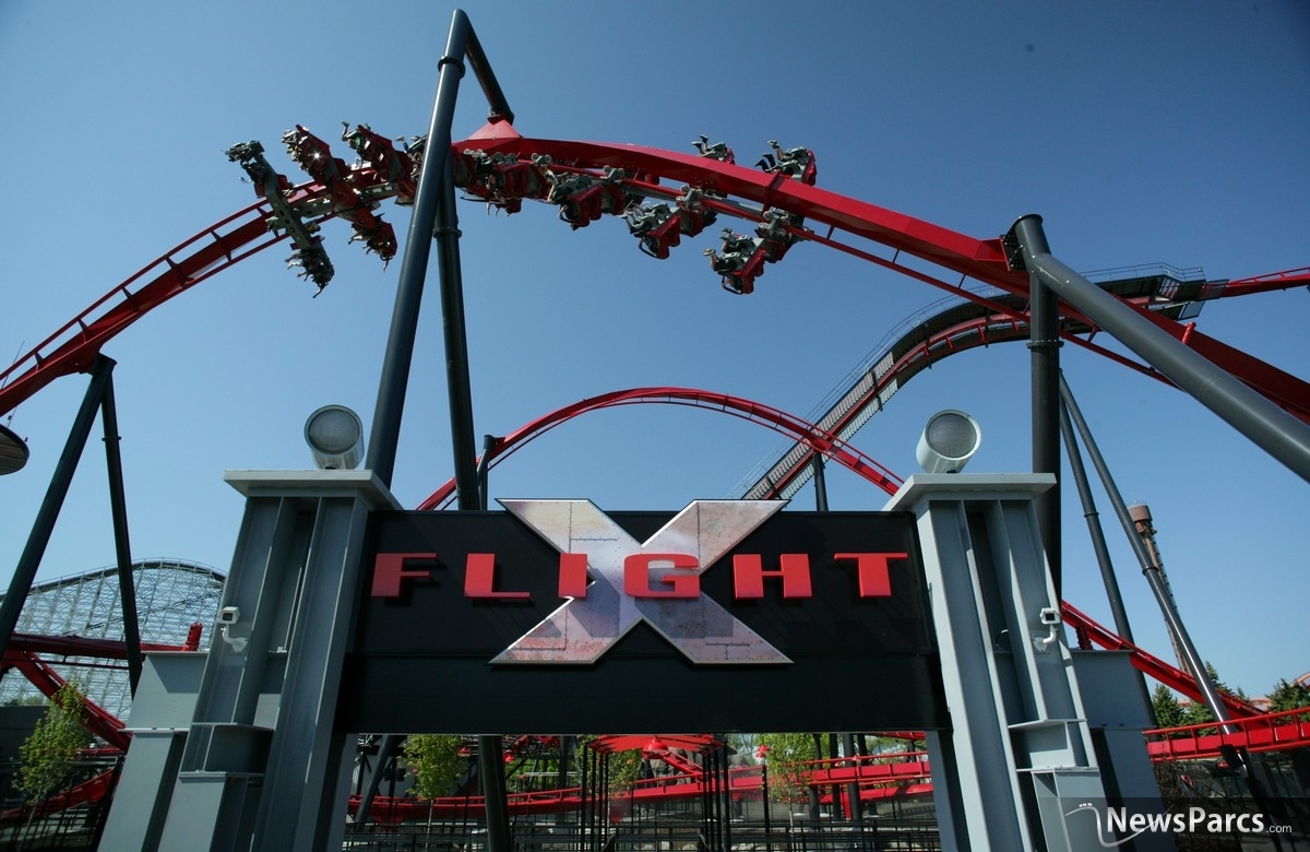 X-Flight : A New Wing Coaster From Bolliger