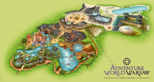 Concept-art d'Adventure World warsaw