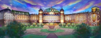 Concept-art du Grand Resort Hotel