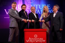 Lancement officiel d'Adventure World Warsaw avec Peter Mulder et Roland Mack