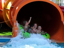 WhiteWater delivers world's first Family Constrictor at Waylon's Water World, USA