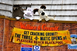 Blackpool Pleasure Beach to launch a Wallace & Gromit dark ride in 2013