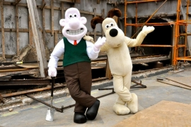 The characters of Wallace and Gromit have been created by British director Nick Park