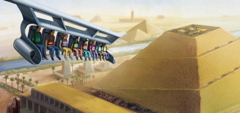Wonders! is an attraction under development for The Red Sea Astrium in Jordan. It will be a panoramic flight simulator.