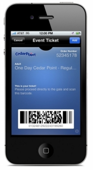 accesso incorporates attraction ticketing into Apple's new Passbook app
