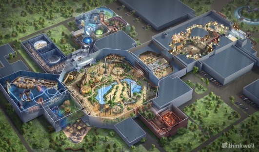 Thinkwell completes design of Jurassic Dream indoor theme park in Daqing, China