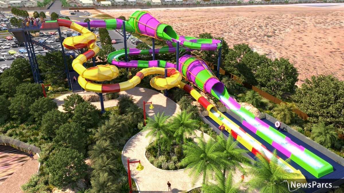 Newsparcs village roadshow theme parks unveils wet 39 n for Splash pool show gold coast