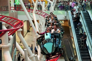 IE Park completed challenging indoor roller coaster project for a FEC in Romania