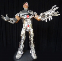 Cyborg is the most impressive animatronic created by Sally Corporation for their newest project Justice League
