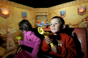 A fourth Lost Kingdom Adventure interactive dark ride has been delivered in 2012 to global operator Merlin Entertainments
