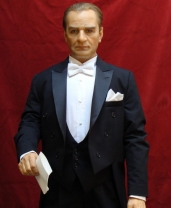 Sally Corporation has created a second animatronic of Mustafa Kemal Atatürk for a customer in Turkey