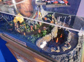 Forbidden Island is an interactive dark ride turnkey concept developed by Sally Corporation