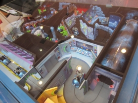 Power Blast in another interactive dark ride turnkey concept proposed by Sally Corporation