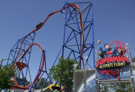 Superman Ultimate Flight (Six Flags Discovery Kingdom)