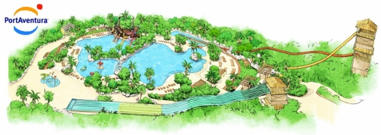 PortAventura invests €10 million in the expansion of its water park Costa Caribe Aquatic Park