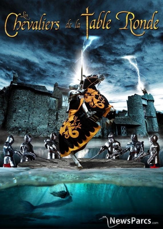 Newsparcs les chevaliers de la table ronde en signature - Les chevaliers de la table ronde puy du fou ...