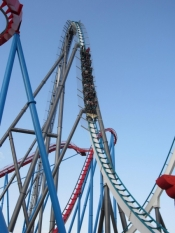 In Spain, Bolliger & Mabillard designed the Europe's tallest roller coaster on behalf of PortAventura (Shambhala).