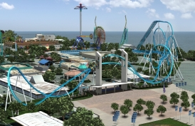In 2013, Bolliger & Mabillard will deliver two Wing Coasters including the world's longest and tallest at Cedar Point: GateKeeper.