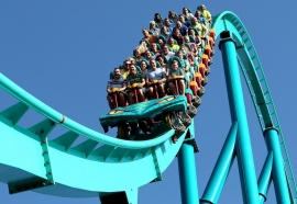 Bolliger & Mabillard delivered 6 new installations in 2012, including a Hyper Coaster at Canada's Wonderland: Leviathan.