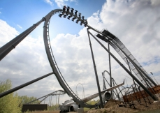 Three new installations opened in 2012, at Dollywood, Six Flags Great America and Thorpe Park. Photo: The Swarm at Thorpe Park.