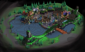 Plopsa invests €12 million at Plopsaland for a new theater and a new themed zone based on Vicky the Viking.