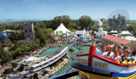 Europa-Park is said to rank as the most popular regional theme park in the world with an annual attendance exceeding 4.5 million.