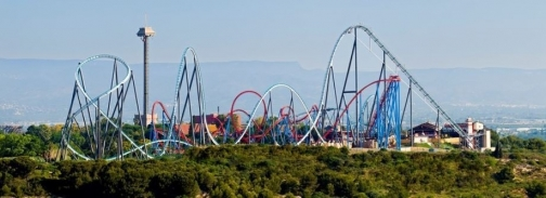 PortAventura has welcomed 3.8 million visitors in 2012, mainly thanks to the opening of Shambhala.