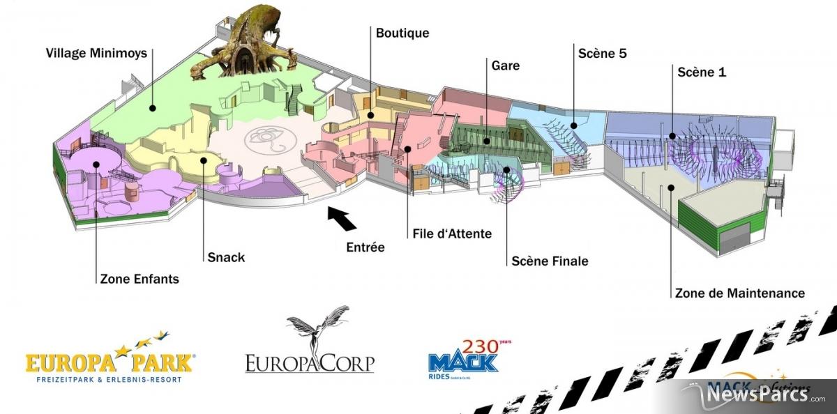 newsparcs europa park choisit arthur et les minimoys pour la cr ation d 39 une zone th matique en. Black Bedroom Furniture Sets. Home Design Ideas