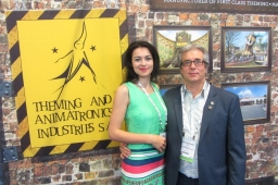 Camelia Bejusca and Udo Weisenburger of TAA Industries